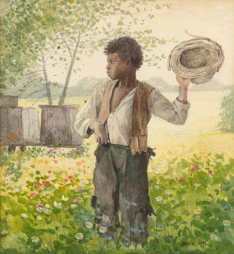 Winslow Homer Figurative Art - The Busy Bee