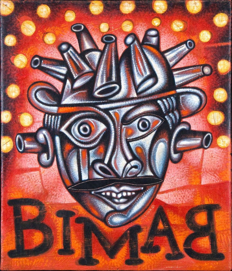 Carlos Luna Figurative Painting - Bimbam