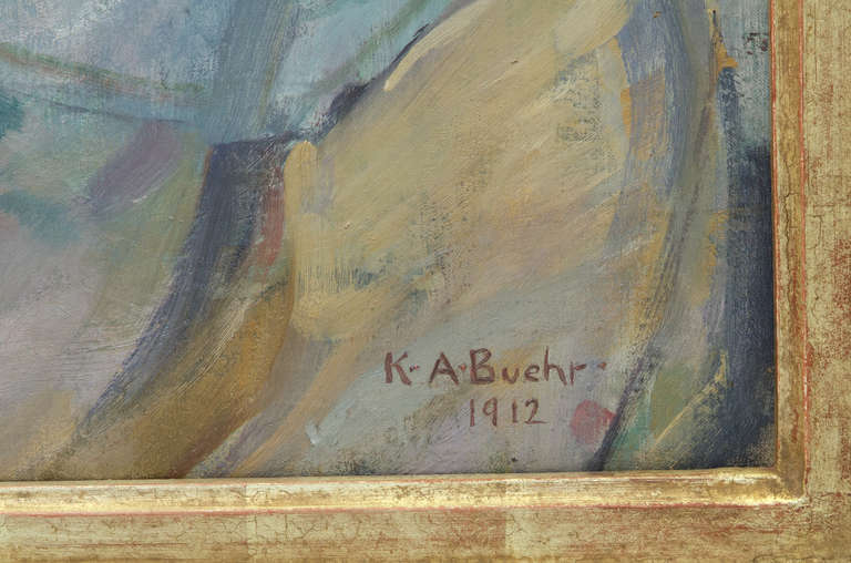 News from Home - Impressionist Painting by Karl Albert Buehr