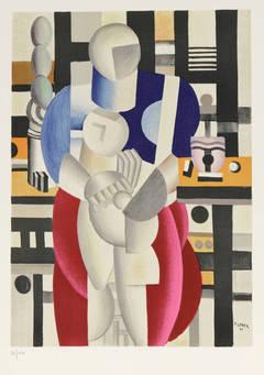 La Femme et l'Enfant, after Fernand Leger