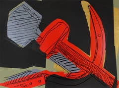 Andy Warhol - Hammer & Sickle