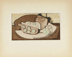 Grenade et Pipe after Georges Braque