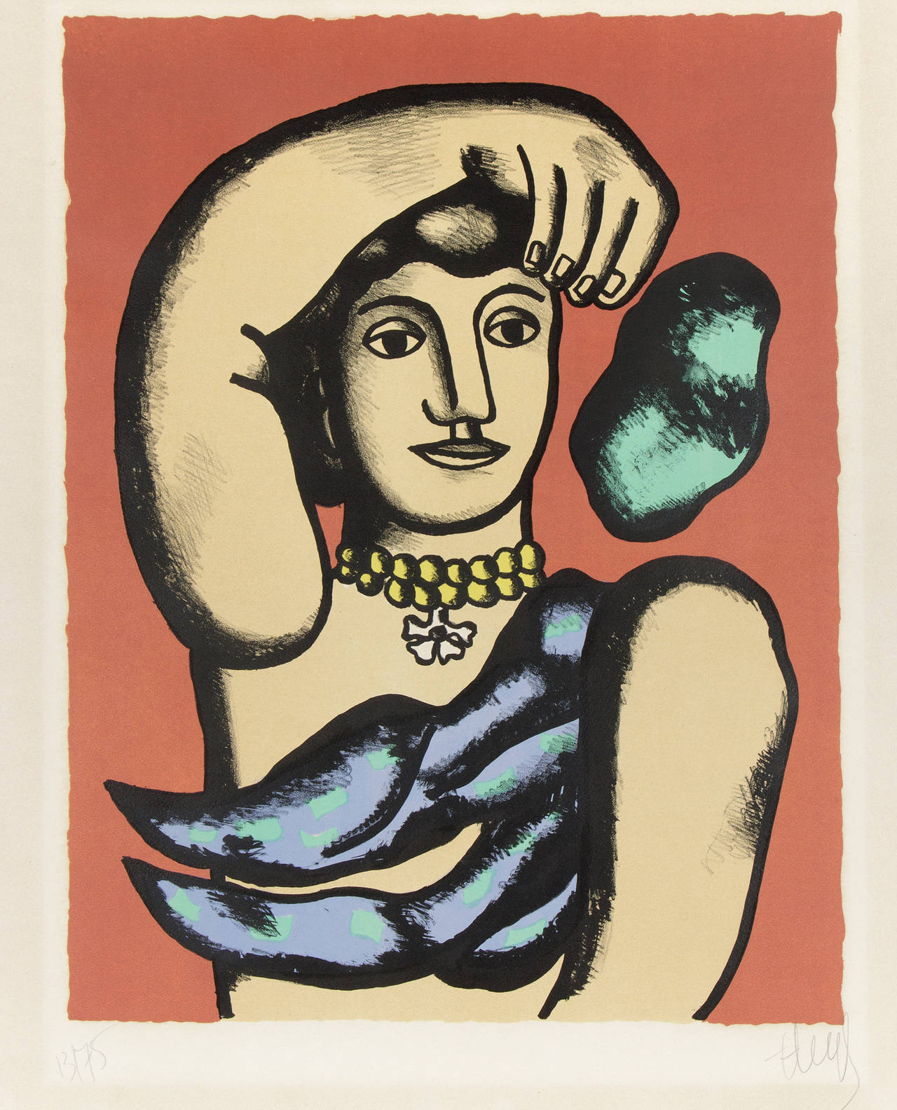 fernand léger marie l acrobate print for sale at 1stdibs