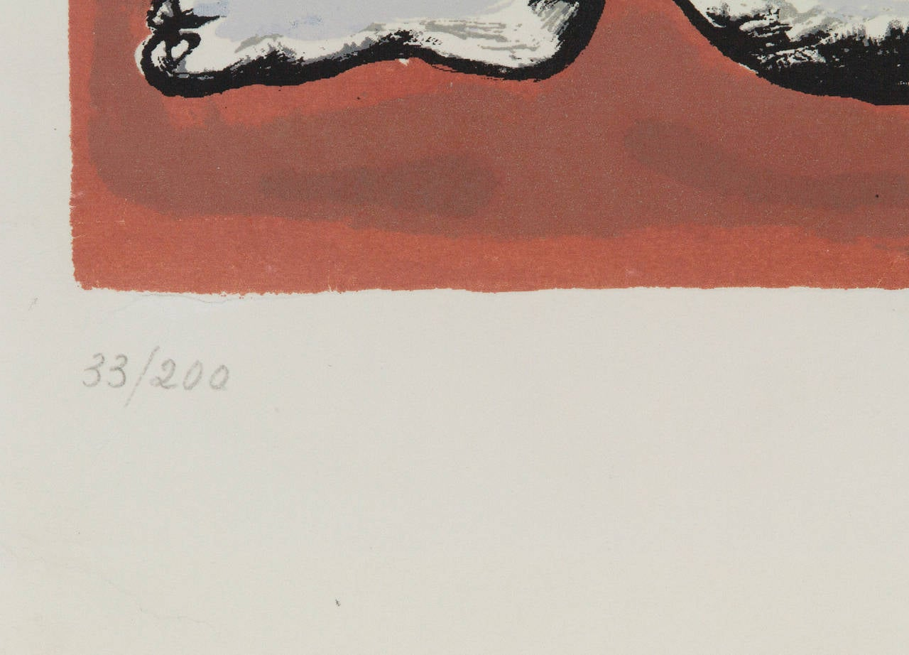 Femmes et Enfants a l'Accordeon - Print by Fernand Léger