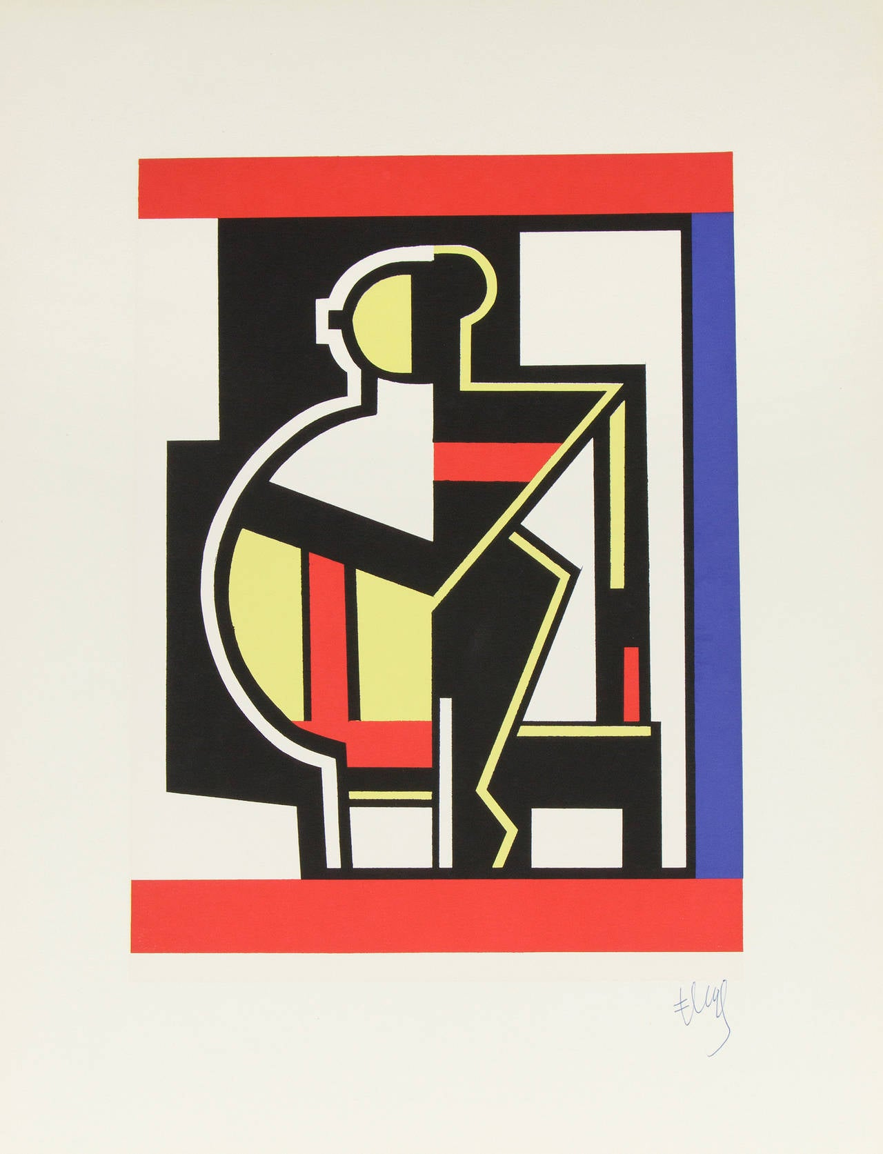 Mechanical Composition after Fernand Leger