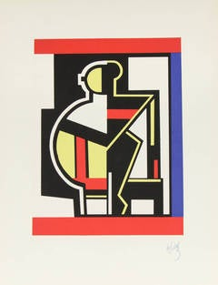 Mechanical Composition after Fernand Leger