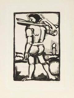 Aide-Bourreau (Portant un des Bois de la Croix)