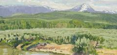 Foothills at Jackson, Wyoming (Jackson Peak)