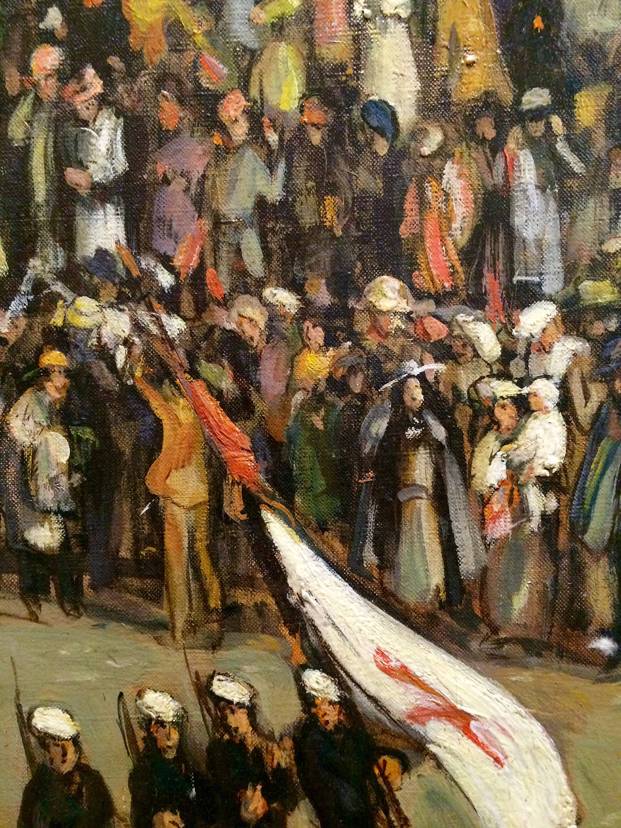 Theresa Ferber Bernstein Armistice Day Parade The Altar