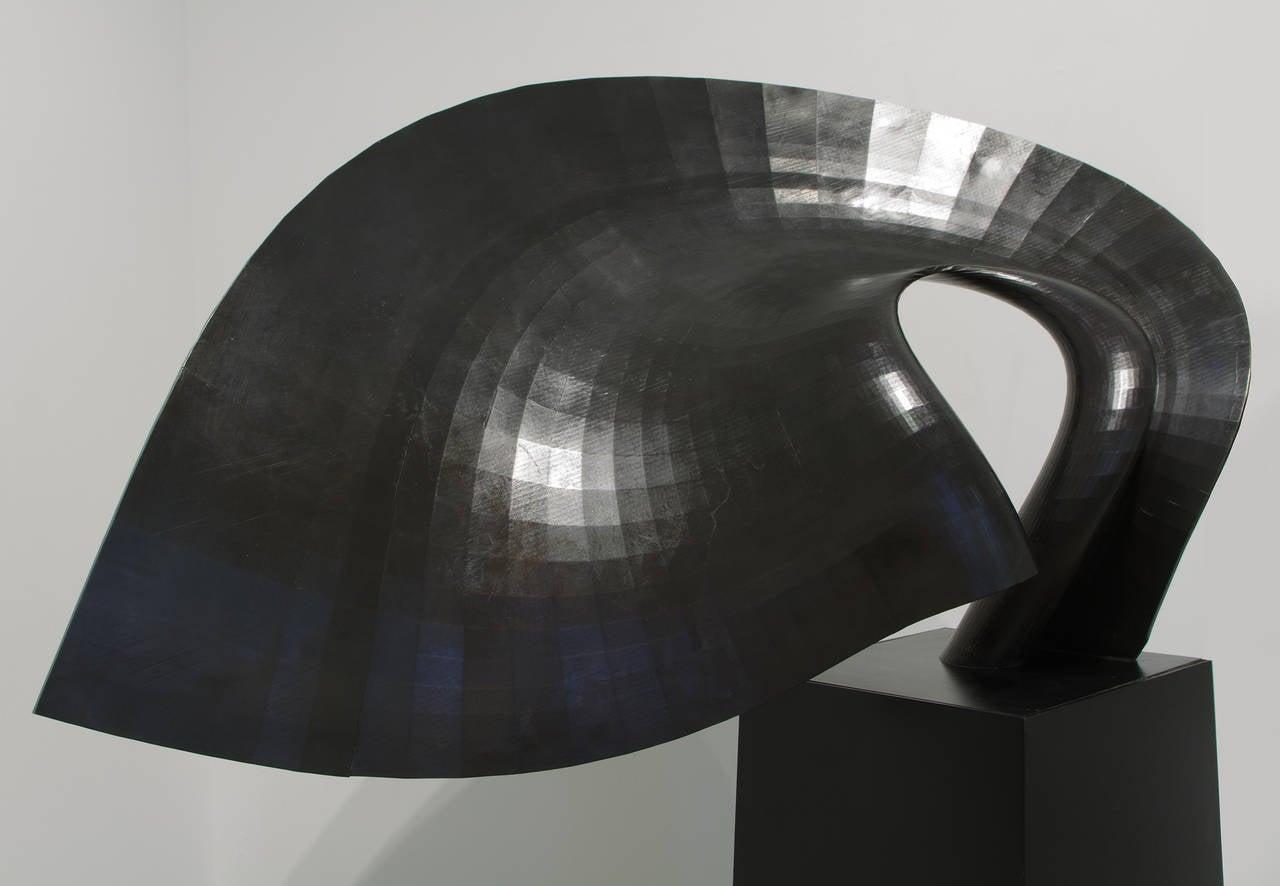 Matador's Cape - Sculpture by David Curt Morris