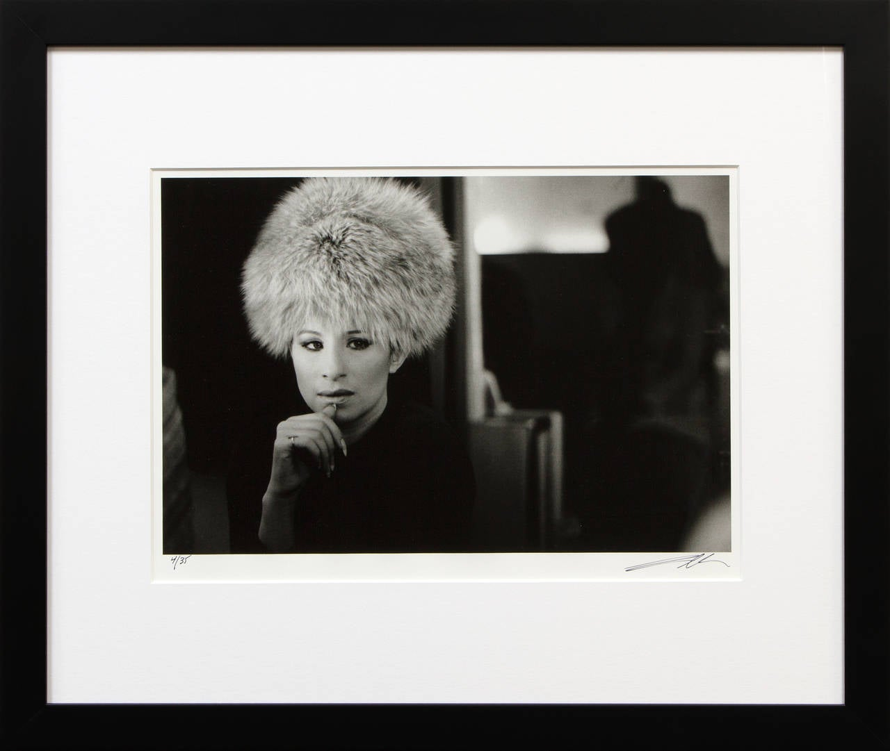 Untitled (Barbra Streisand) - Photograph by Lawrence Schiller