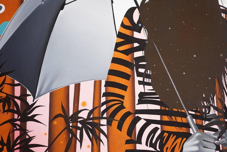 Daphne I - Painting by Peter Gerakaris