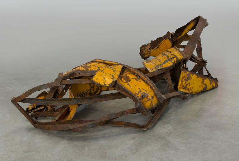 Yellow River - Sculpture by Deborah Butterfield