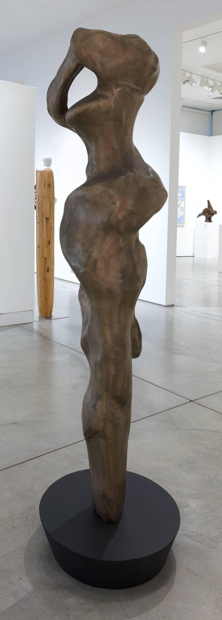 Embrace - Gold Abstract Sculpture by Herb Alpert