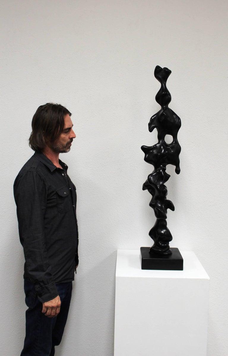 A bronze sculpture by world famous trumpet player and contemporary artist Herb Alpert.