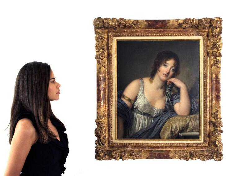 Portrait of Jeanne Philiberte Ledoux (1767–1840) For Sale 1