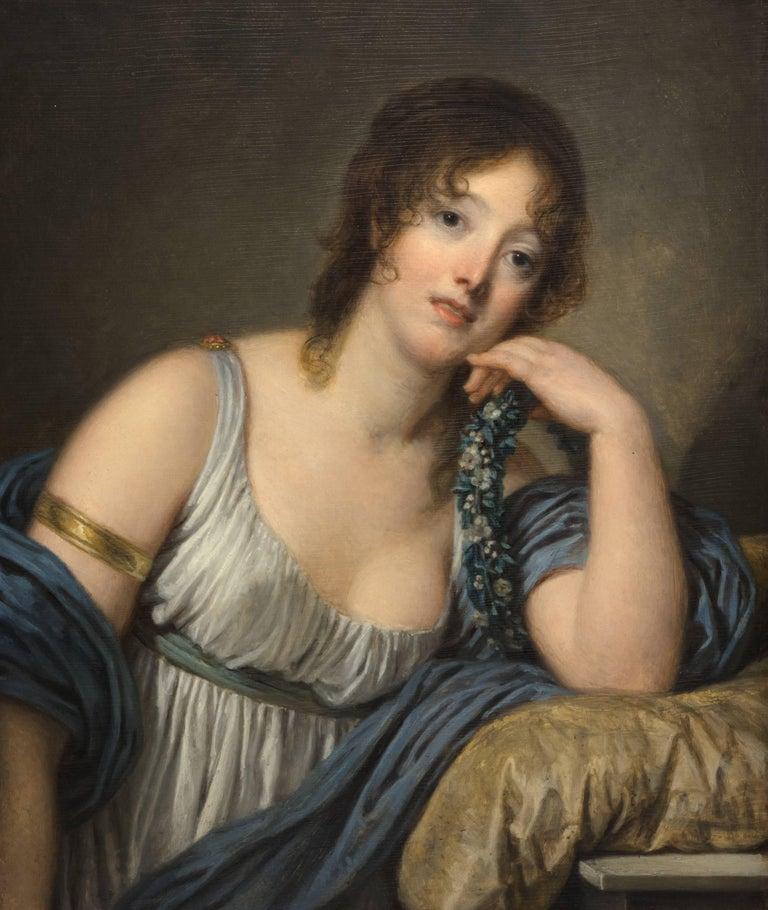 Portrait of Jeanne Philiberte Ledoux (1767–1840) For Sale 3