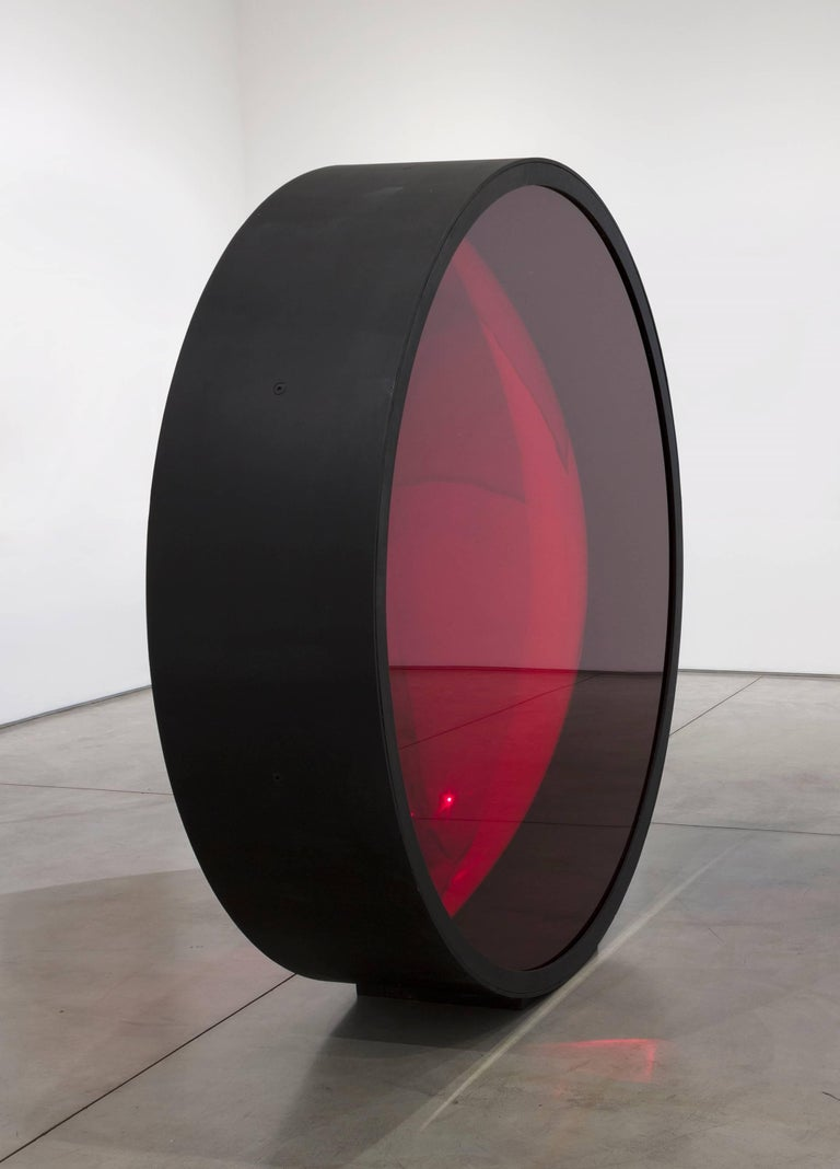 A large scale, abstract sculpture by contemporary British artist Anish Kapoor.