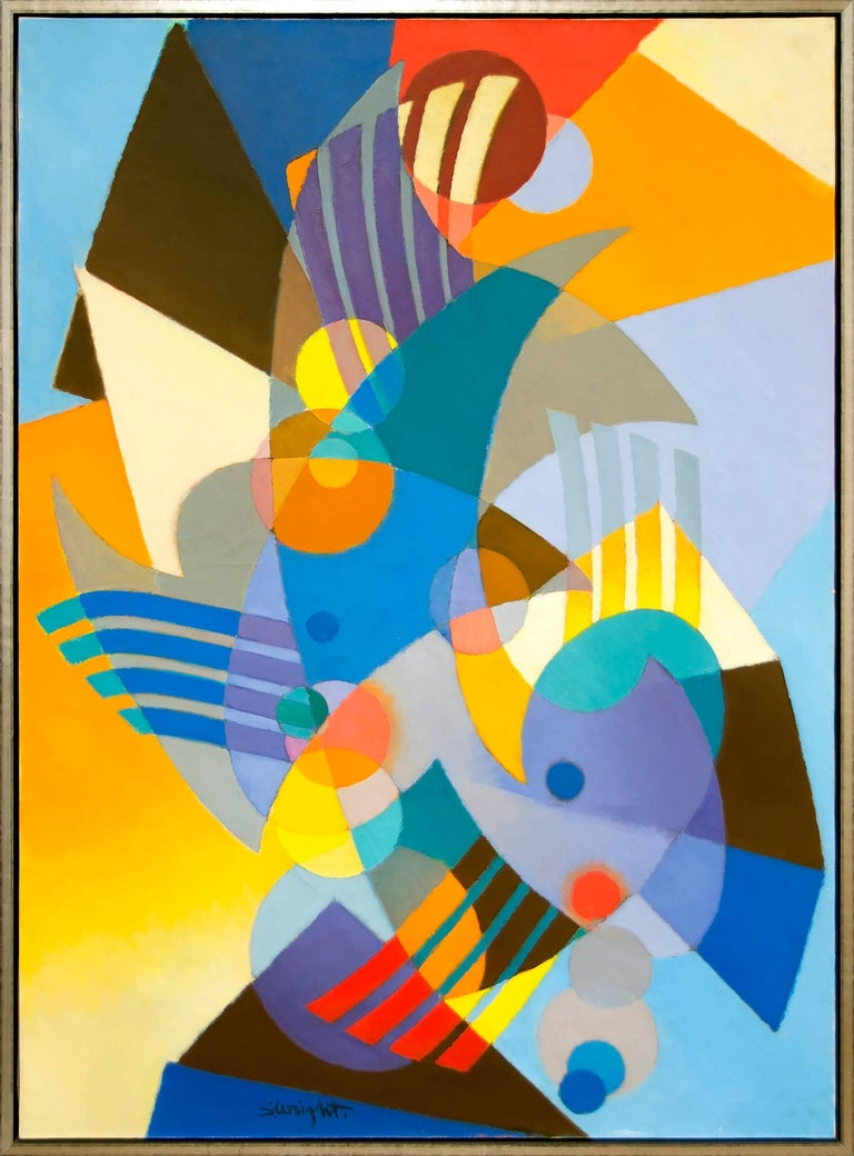 La Gaite - Painting by Stanton MacDonald-Wright