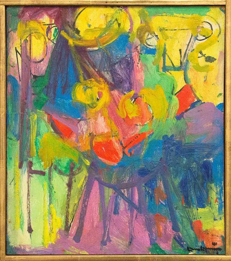 The Chair - Painting by Hans Hofmann