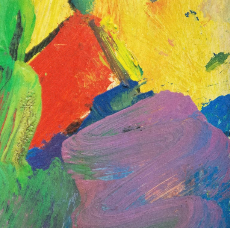 An abstract painting by Hans Hofmann.