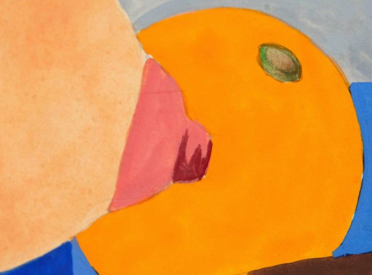 Study for Bedroom Painting #6 - Orange Nude by Tom Wesselmann