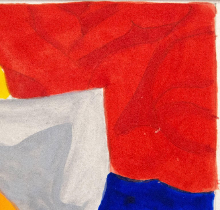 A work on paper by Tom Wesselmann.