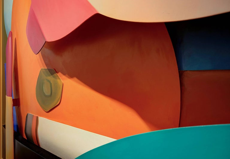 A cut-out, wall sculpture by Tom Wesselmann.