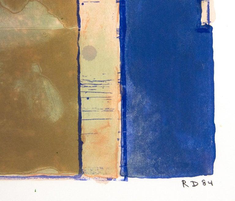 Twelve - Abstract Expressionist Print by Richard Diebenkorn