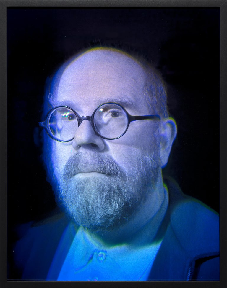 Self Portrait - Contemporary Art by Chuck Close