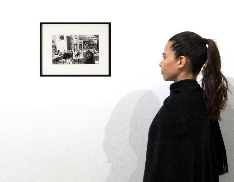 Elaine de Kooning, New York (in Studio) For Sale 2