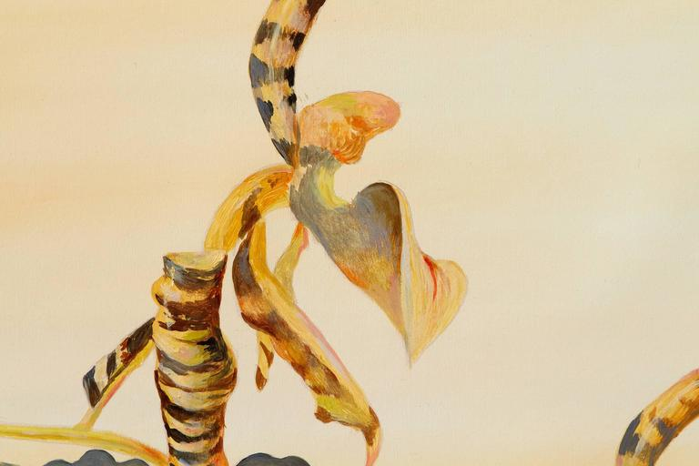 Wild Orchid - Painting by Genia Chef