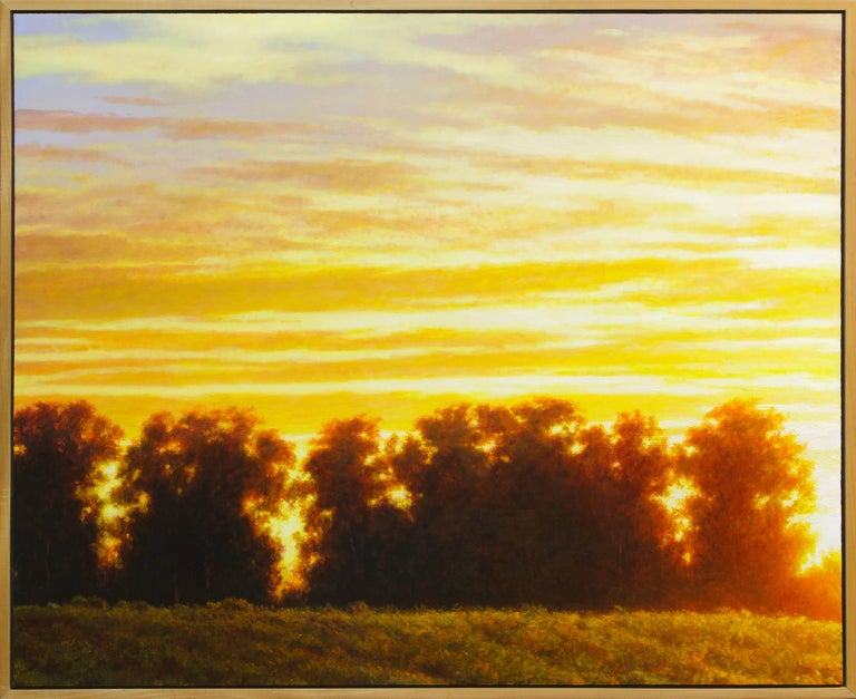 William Glen Crooks Landscape Painting - Trees