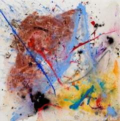 Motherboard Line by Detlef Aderhold - Energetic Contemporary Abstract Painting