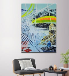 Phantasy for a New  by Millenium by Katja Grandpierre - Abstract Cityscape