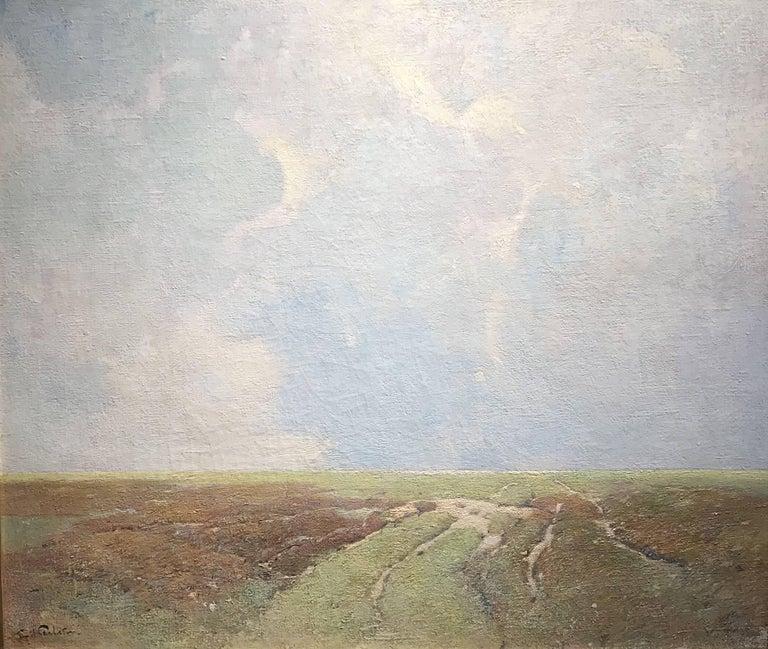 Marsh Landscape - Painting by Soren Emil Carlsen