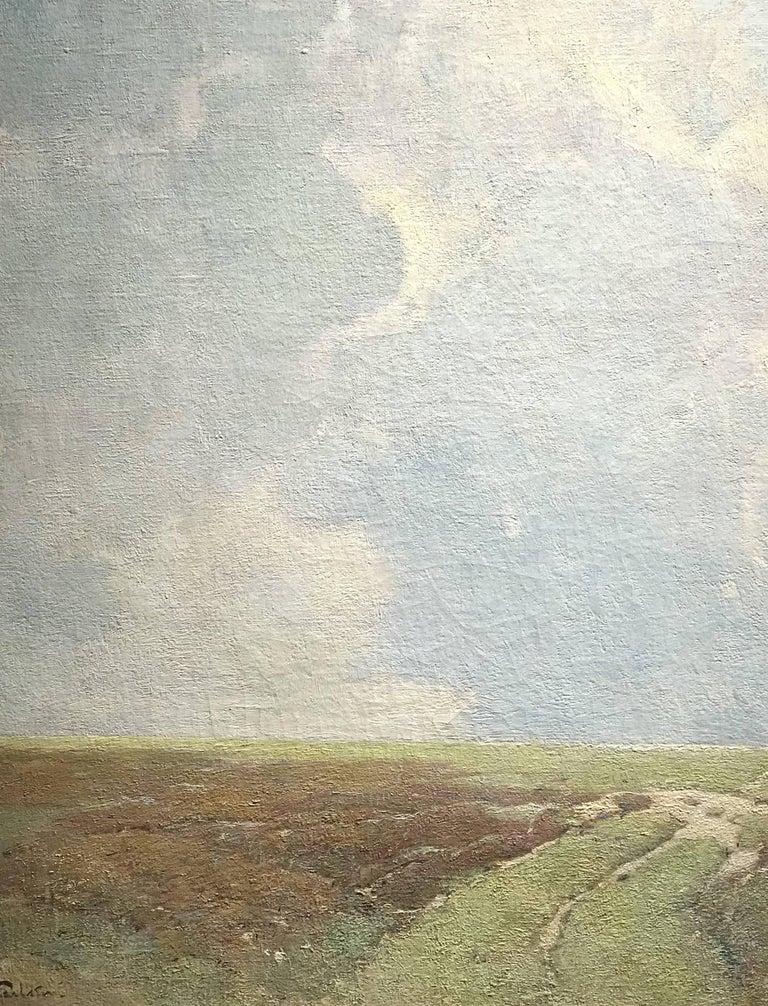 Marsh Landscape - Impressionist Painting by Soren Emil Carlsen
