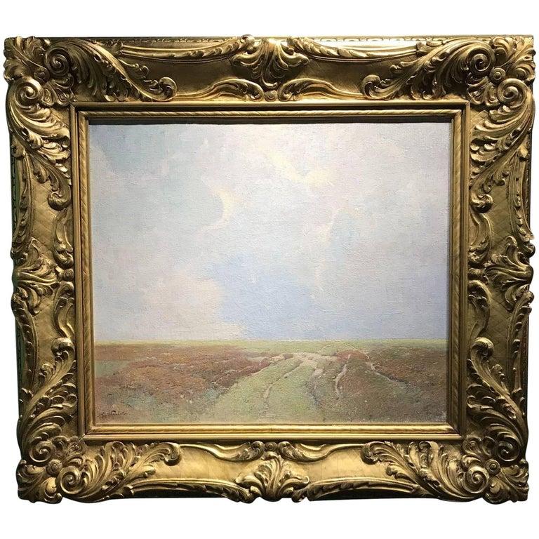 Soren Emil Carlsen Landscape Painting - Marsh Landscape
