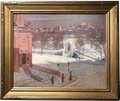View of State Street From Boylston Street, Boston MA