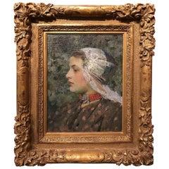 Portrait of a Dutch Girl, circa 1891-1896