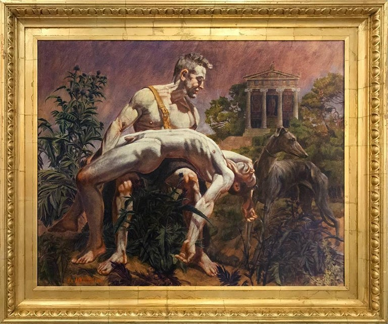 Hercules Mourning the Death of his Cupbearer Hylas