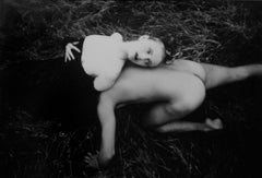 Nude Man and Woman in the Grass (White Rabbits)