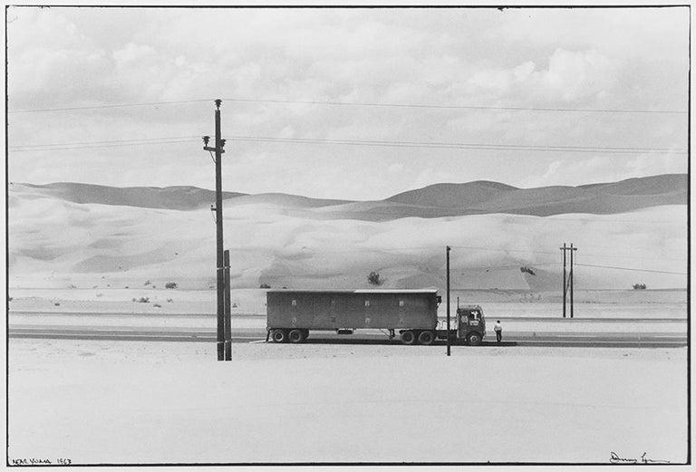 (Truck in the Desert) Near Yuma, Arizona