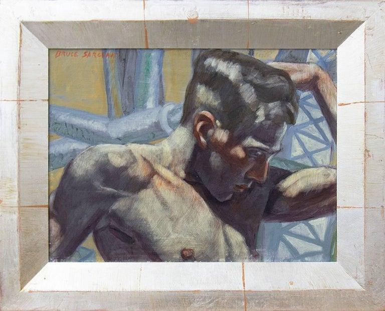 [Bruce Sargeant (1898-1938)] Boris with Constructivist Background