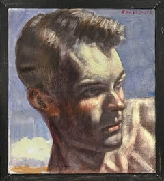 [Bruce Sargeant (1898-1938)] Kim Head Study