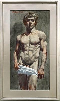 [Bruce Sargeant (1898-1938)] Bodybuilder in White Shorts