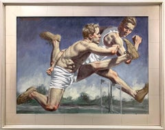 [Bruce Sargeant (1898-1938)] Runners at the Track