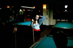 Emily at the Pool Hall