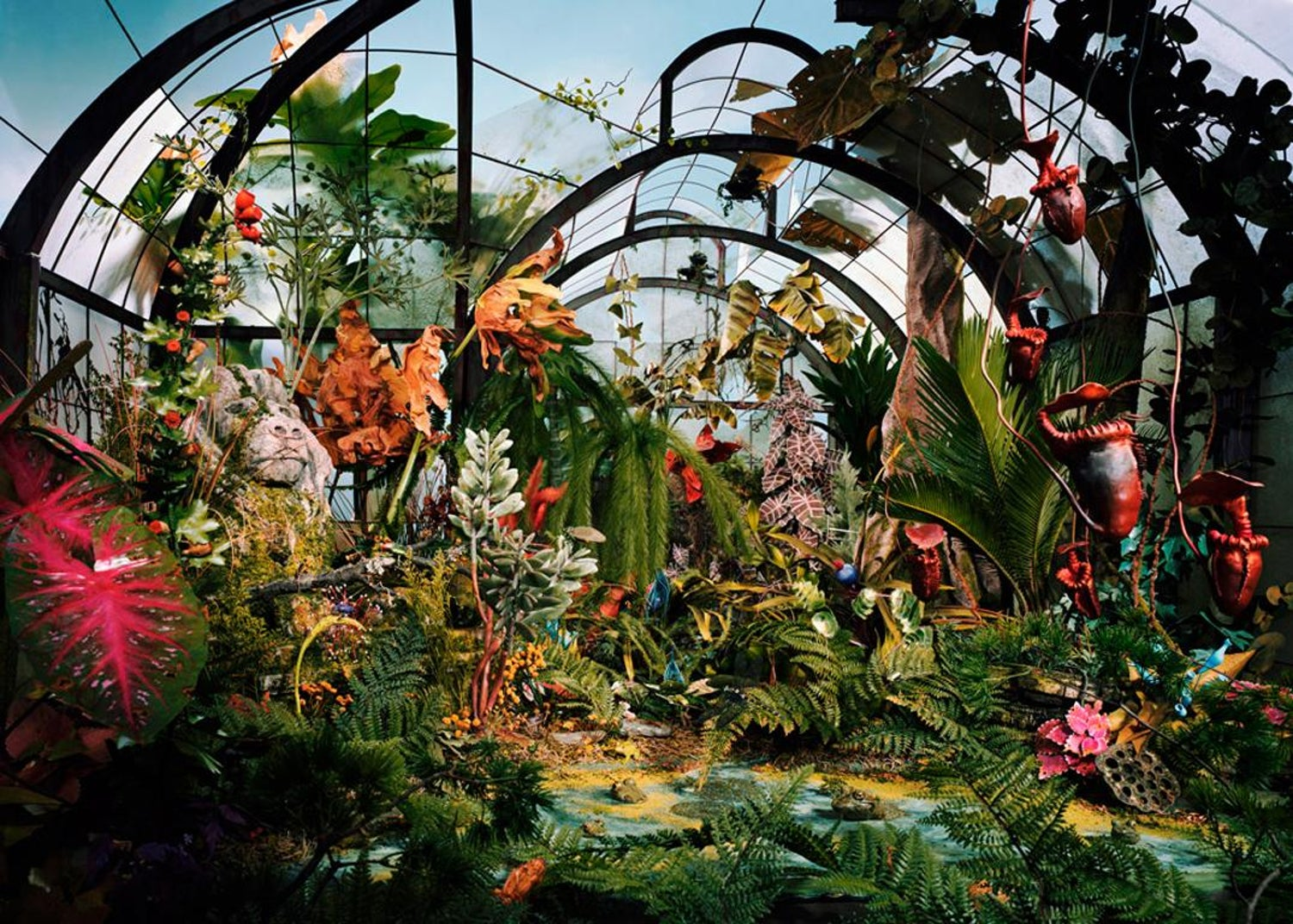 Lori Nix/Kathleen Gerber - Botanical Garden, Photograph: For Sale at ...