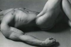 Reclining Nude Bodybuilder